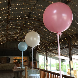 Stone Barn Pastel Balloons