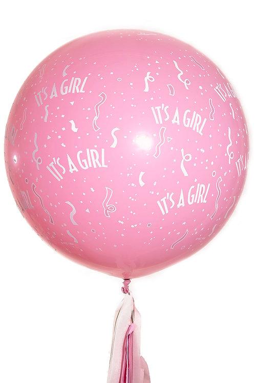 Baby Girl Giant Balloon