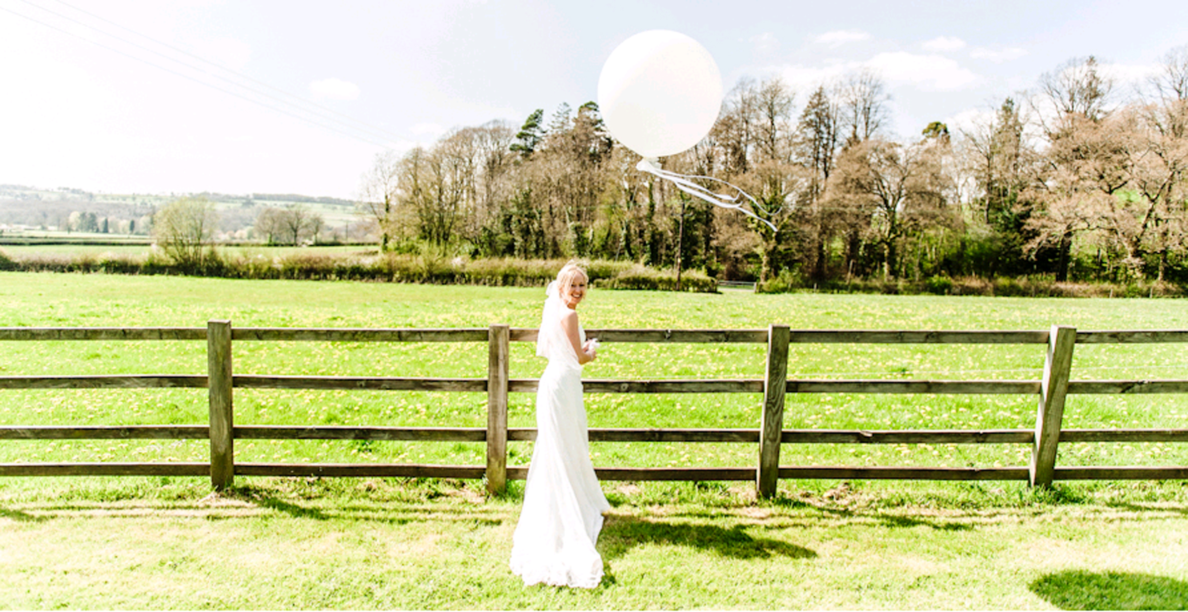 Hyde Barn Wedding Balloons