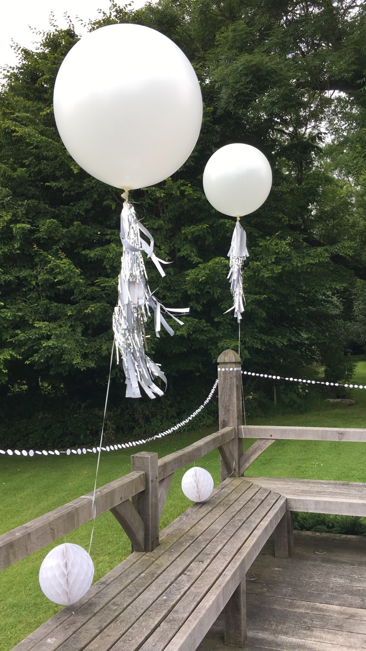 Cripps Barn Wedding Balloons