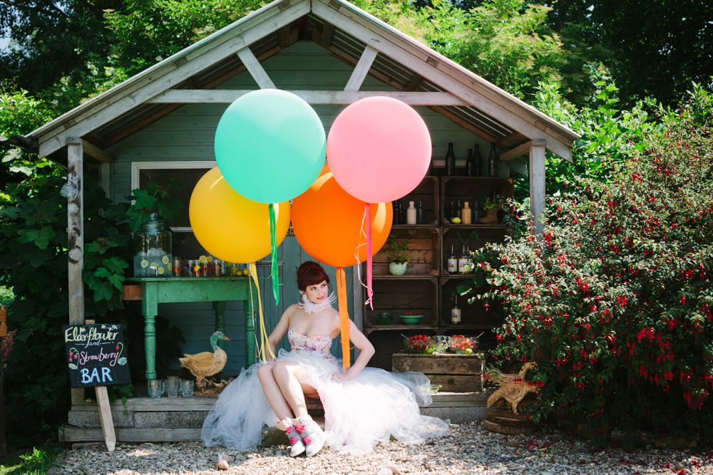 Festival Wedding Balloons