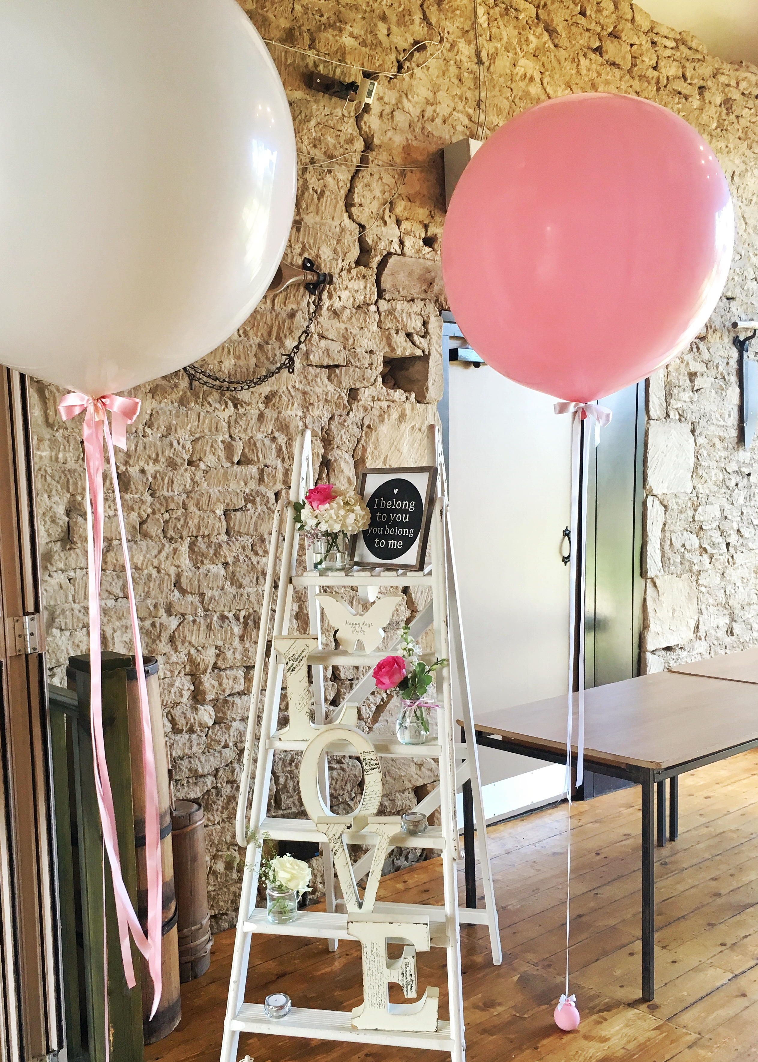 Tythe Barn Wedding Balloons