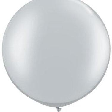 Silver Giant Balloon