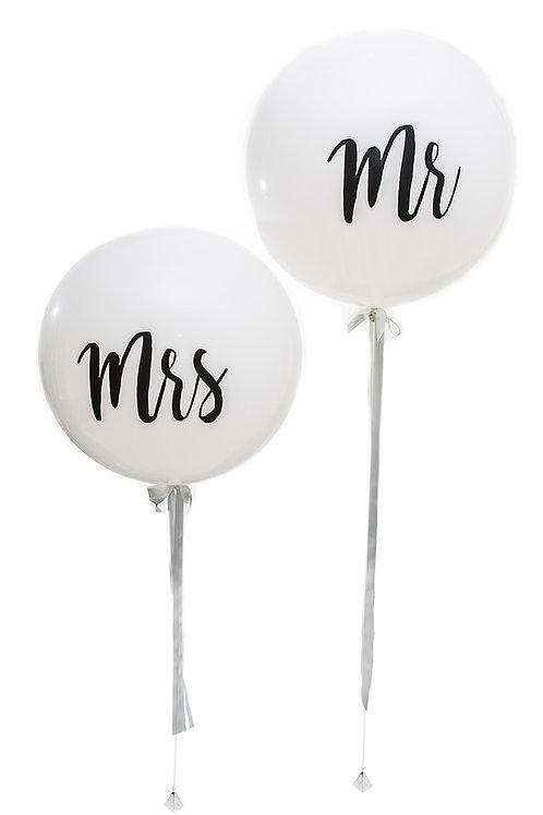 Mr & Mrs Giant Balloons