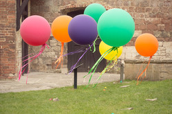 Colourful Giant Balloons