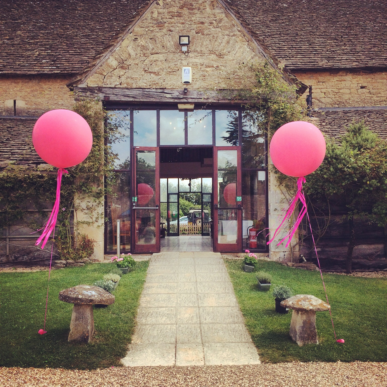 Great Tythe Barn Giant Balloons