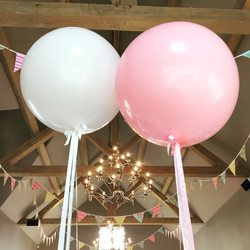Pink Giant Balloons