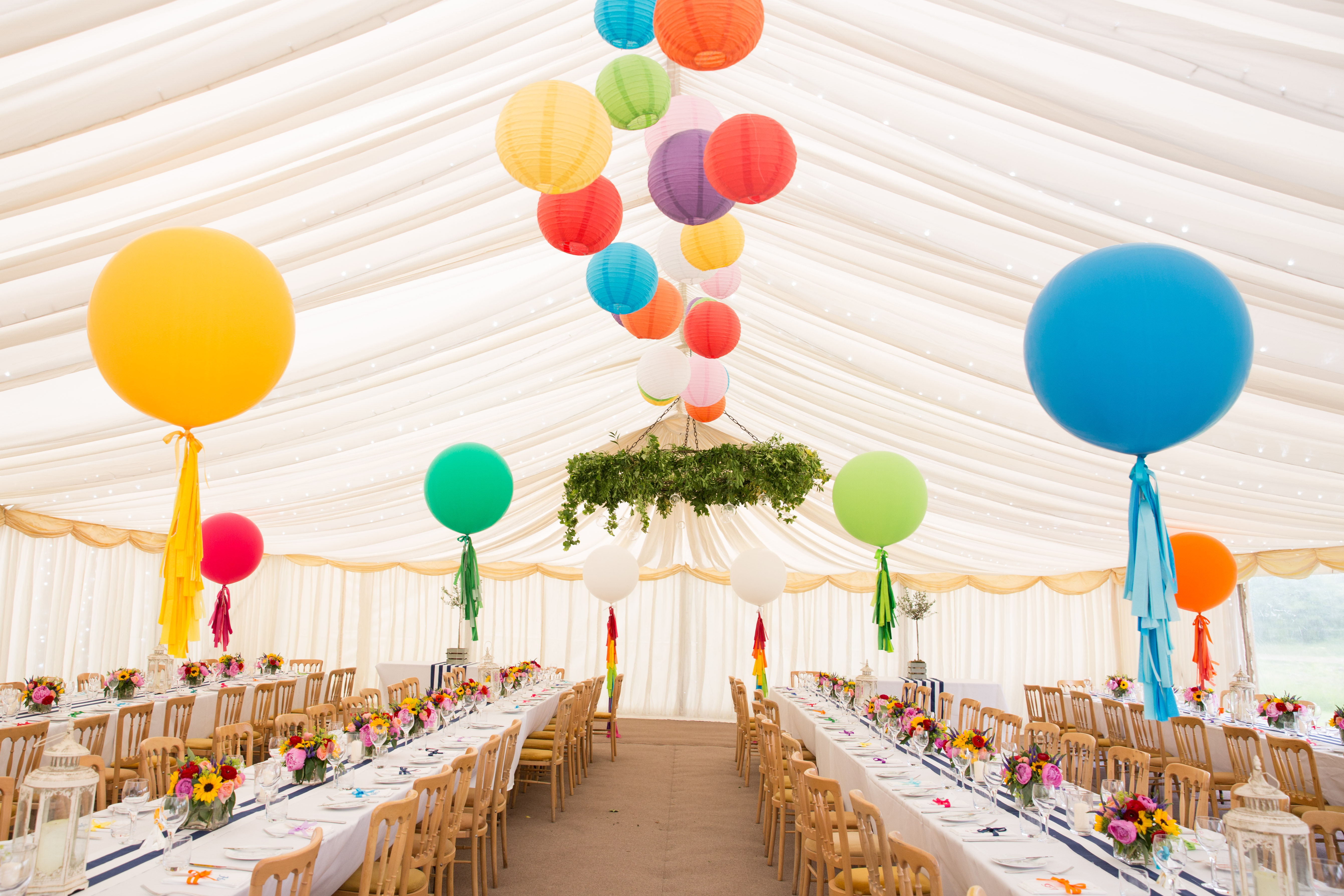 Marquee Wedding Giant Balloons
