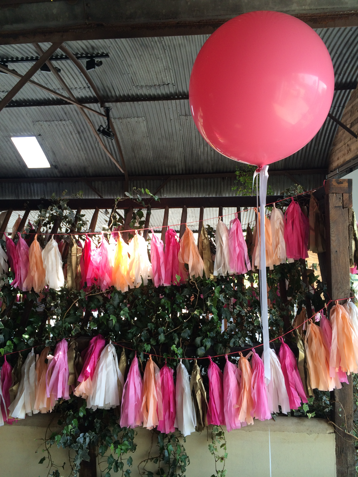 Cripps Stone Barn Giant Balloons