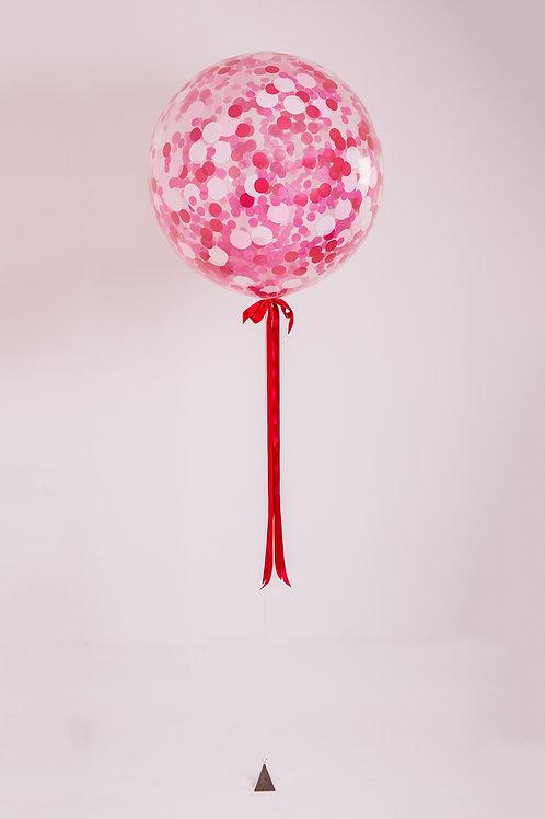 Love Confetti Balloon