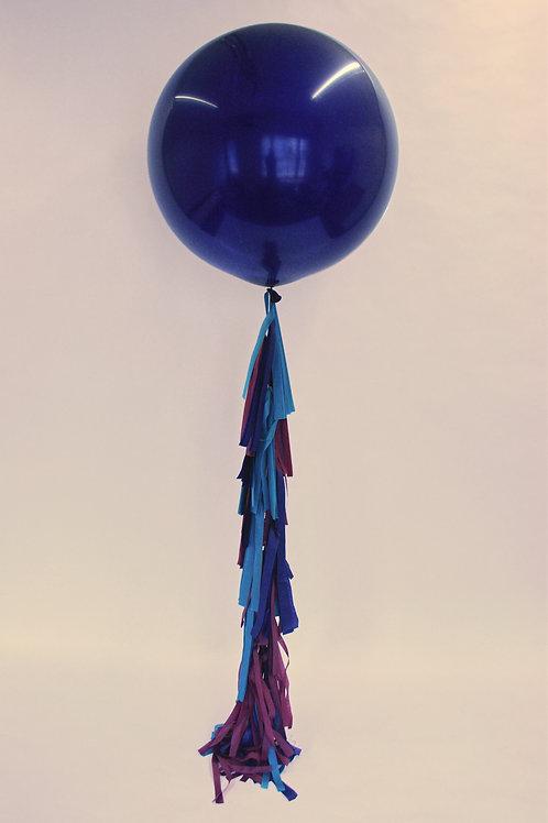 Tranquil Tassel Tail Balloon