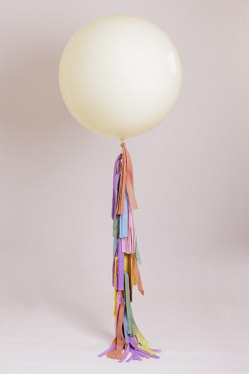 Pastel Tassel Tail Balloon