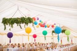 Bright Tassel Tail Giant Balloons