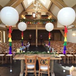 Rainbow Giant Balloons