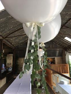 Eucalyptus Balloons at Stone Barn