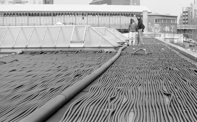 Solaranlage auf dem Prinzenbad