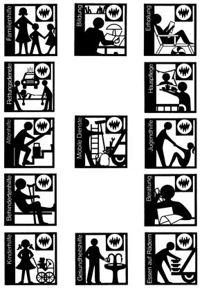 Logos der 70er Jahre