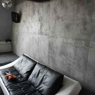 Штукатурка с эффектом бетона