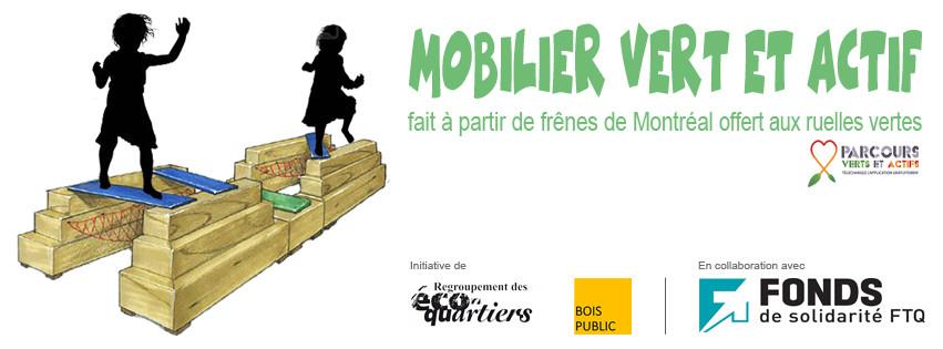Mobiliers verts et actifs