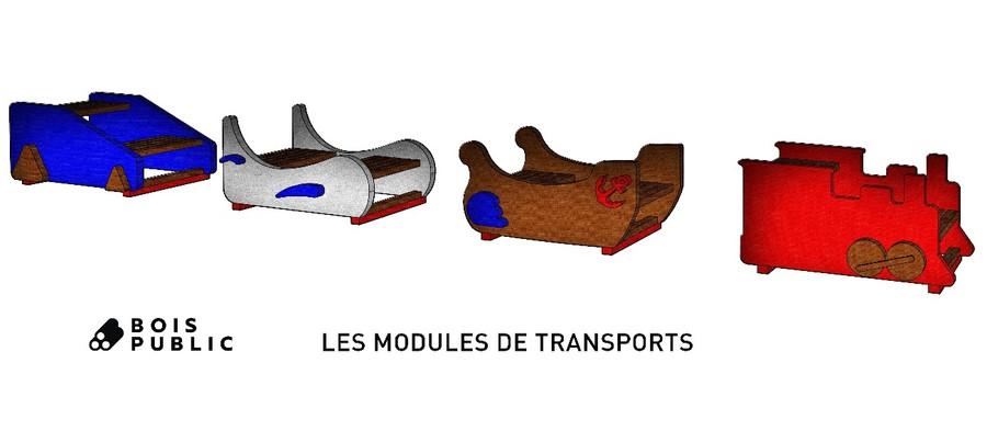 Modules de transports