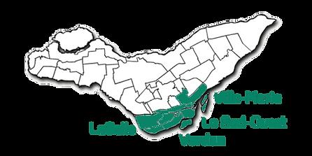 Carte Verdir le sud avec arrondissements
