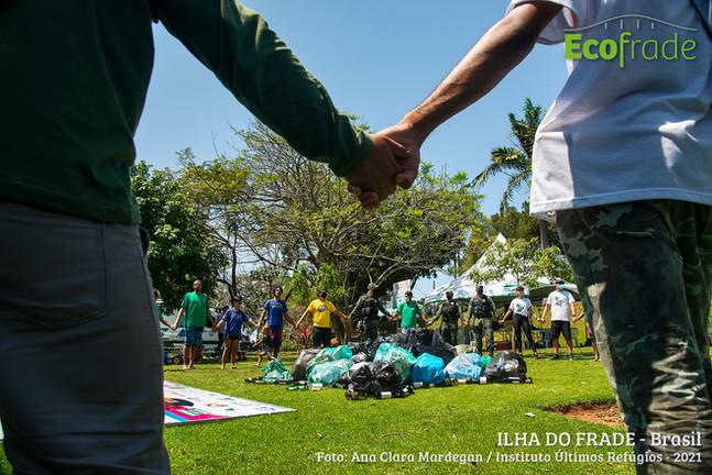 Cleanup Day 2021: Ilha do Frade celebra data com ação de limpeza e atividades culturais