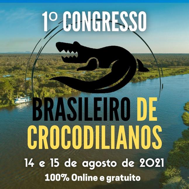 Convite: 1º Congresso Brasileiro de Crocodilianos