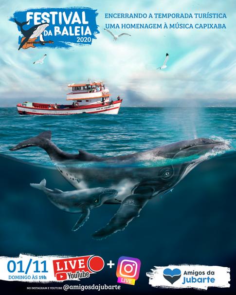 Festival da Baleia 2020 - Projeto Amigos da Jubarte