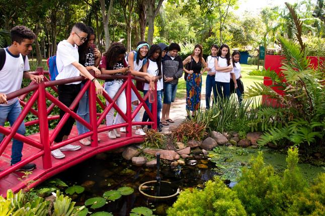 Parque Botânico Vale prestigia último encontro do Clube de Observadores da Natureza