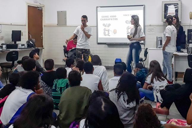Projeto Marsupiais realiza sua primeira ação de Educação Ambiental