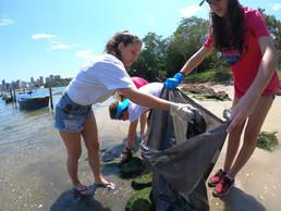 Projeto Ecofrade celebrará Clean Up Day com programação especial na Ilha do Frade