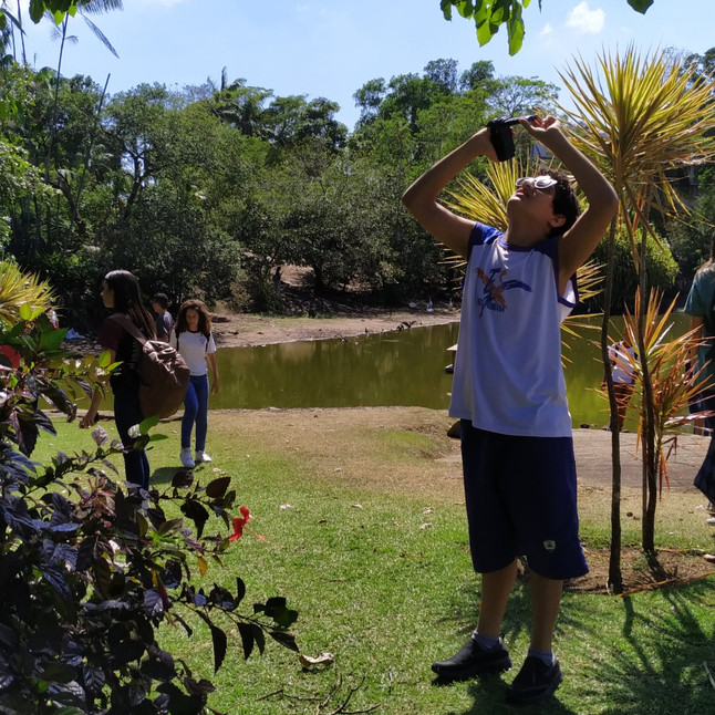 Ilha do Frade recebe Clube de Observadores da Natureza