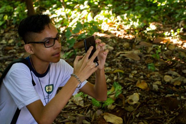Projeto Clube de Observadores da Natureza agora no Biofaces