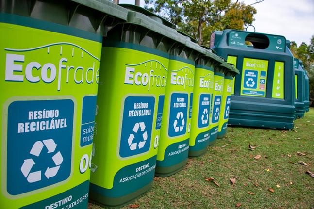 Projeto Ecofrade celebra início da coleta seletiva em evento com moradores e membros da organização