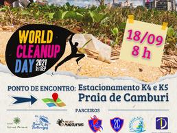 Projeto Vitória da Restinga realizará ação de limpeza no Clean Up Day