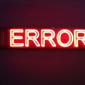 DA4U Error Email