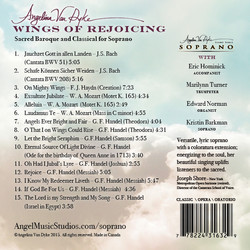Wings of Rejoicing CD Album Back