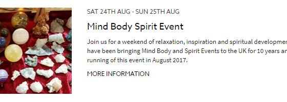 Elsecar Mind Body & Spirit Event