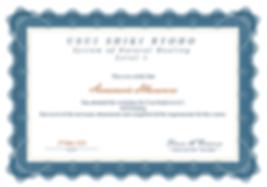 Annamarie_Hlavacova Level 1 Reiki Certif