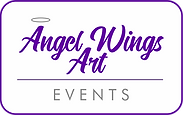 Angel Wings Art Events LOGO MAY 2018 whi