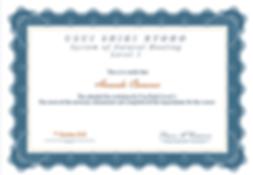 Level 1 Reiki Certificate - Amanda.PNG