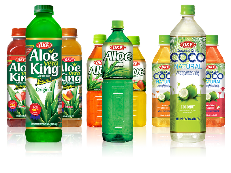 Aloe Vera Promenade Drink Flavor, various natural flavors each containing 30 Aloe