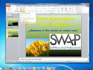 Powerpoint 2010 - Organisez votre présentation en sections