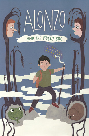 Alonzo held onto his magic staff and set off into the fog.