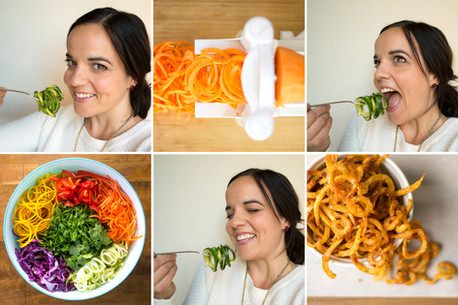 GIVEAWAY (ENDED) + 10 IDEAS TO ADD MORE VEGGIES TO YOUR DIET USING A SPIRALIZER