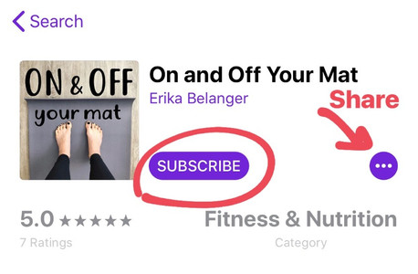How to subscribe, share and review