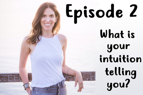 Podcast Episode 2 - What your intuition telling you?