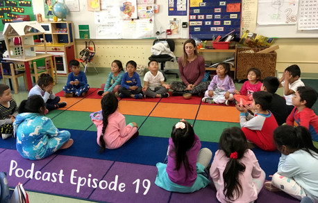 Podcast Episode 19 : Kids Yoga and the Bambini Yoga Project