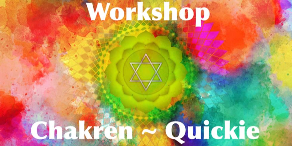 Workshop ~ Chakren Quickie ~ Teil 1