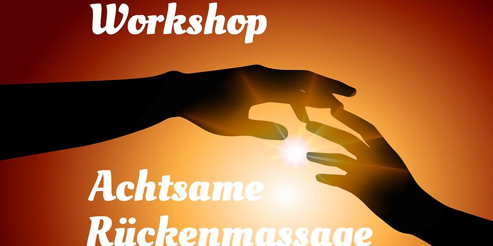 Workshop ~ Achtsame Rückenmassage entfällt